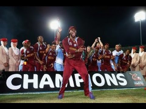 Chris Gayle Gangnam Dancing After Winning T20 World Cup