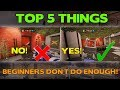 Rainbow Six Siege Tips || Top 5 Things Beginners Don't Do Enough!