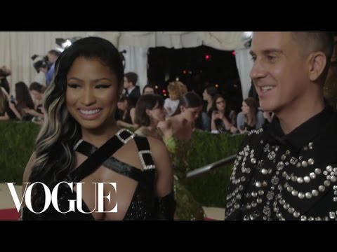 Nicki Minaj and Jeremy Scott on Expressing Yourself Freely | Met Gala 2016