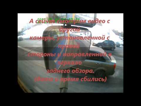 ДТП Киев - зачем фуре два видеорегистратора