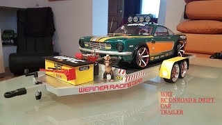 OnRoad & Dirft Car Trailer with RC by WRT Custom build rc trailers