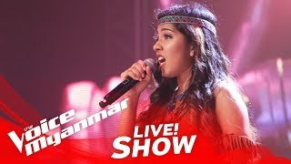 "Download Lagu Grace Monica: ""Colors Of The Wind"" - Live Show - The Voice Myanmar 2018 Gratis STAFABAND"