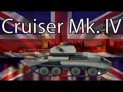 Фановый легкий танк Cruiser Mk.IV в 9.18, гайд