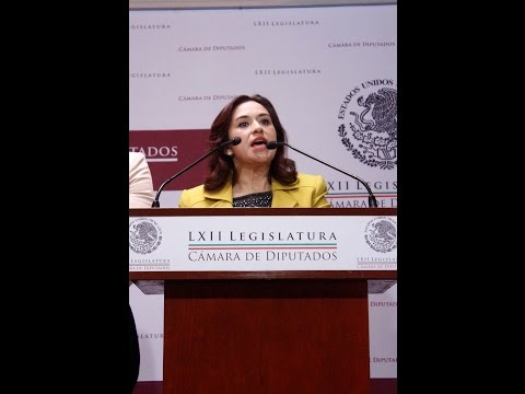 México sufre por la corrupción que impera a causa dell PRI :Martha Cordoba