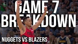 How The Portland Trailblazers Beat The Denver Nuggets In Game 7 | 2019 NBA Playoffs Breakdown