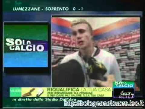 Bologna FC 1909 – Palermo 1-3 01/04/2012, Sorensen nel dopopartita