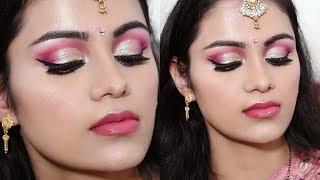 download lagu Karwachauth Makeup Tutorial In Hindi 2017  Soft Pink gratis