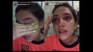 Mariam Obregon rompe en llanto en Instastories por situacion de Venezuela