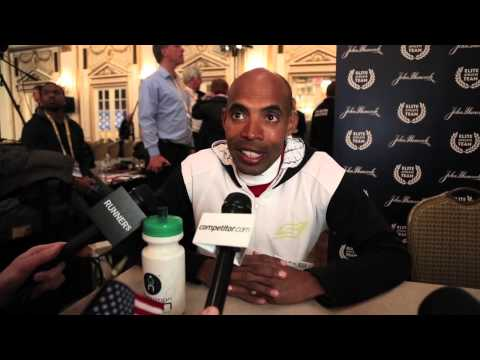 Meb Keflezighi: 2014 Boston Marathon Press Conference