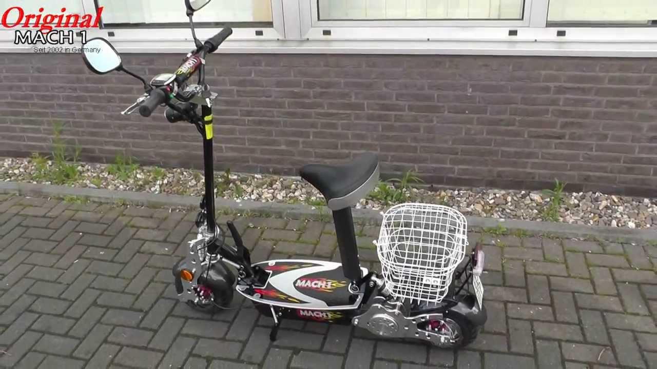 mach1 elektro scooter mit 800w motor 32km h und. Black Bedroom Furniture Sets. Home Design Ideas
