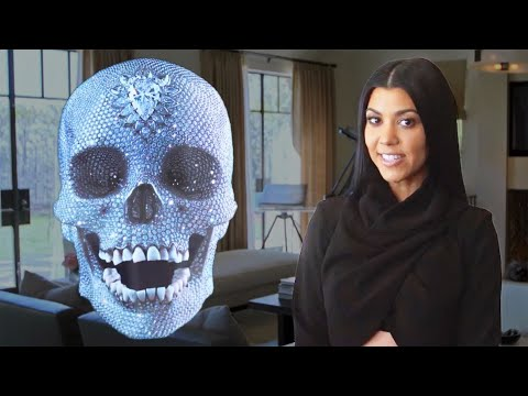 Inside Kourtney Kardashian's Home for Her AD Cover Shoot