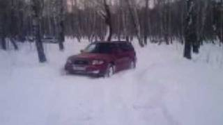 forester in snow 2