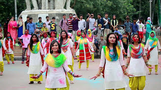 Rag Day Performance : Flash Mob| WRC 7th Batch | University of Dhaka