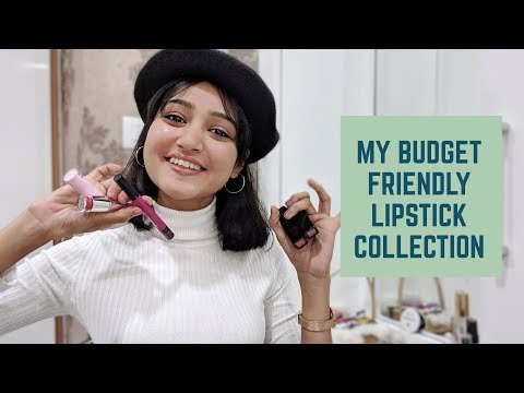 My Budget Friendly LIPSTICK Collection|Nude, Pinks & BOLD| SONIA GARG
