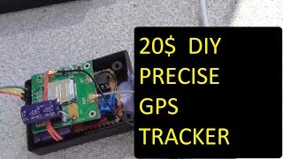 Make your own cheap DIY GSM GPS bike car tracker / GPS car locator  for  20 USD ! - final version