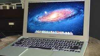 New Apple MacBook Air 11(2011): Unboxing and Demo
