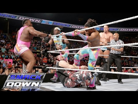 The New Day & Big Cass vs. The Vaudevillains & The Dudley Boyz - 8-Man Tag: SmackDown, May 19, 2016