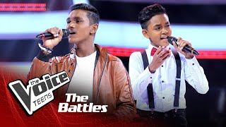 The Battles : Punsisi Udula v Shareru Naveendya | Muwa Muktha Latha | The Voice Teen Sri Lanka