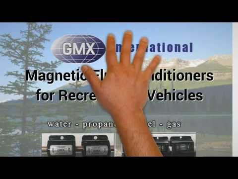 GMX RV magnetic fuel & water conditioners, RV gas savers