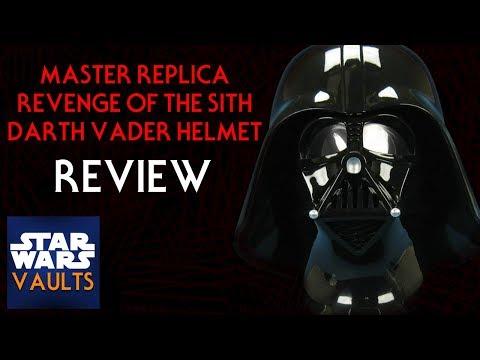 Master Replicas Darth Vader Helmet (ROTS)
