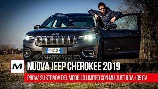 Nuova Jeep Cherokee 2019: Prova su Strada di un vero fuoristrada