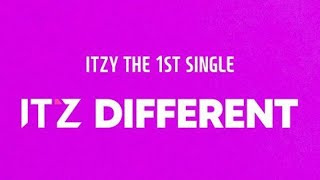 Baixar [TRACK LIST] iTZY The 1st Single `IT'z Different`