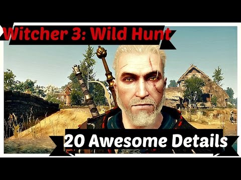 Witcher 3: 20 Awesome Details