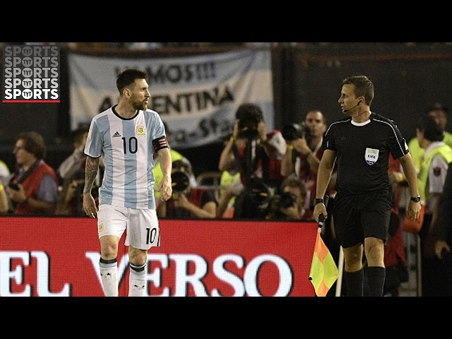 Messi Banned Four Matches