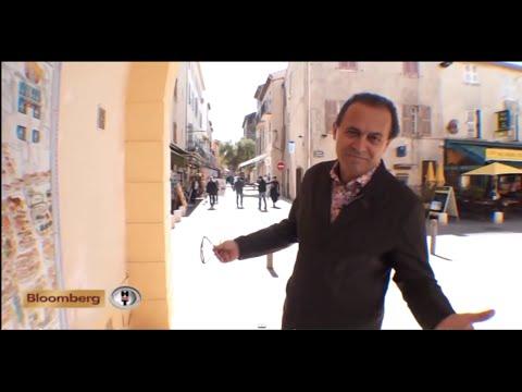 Ayhan Sicimoğlu ile Antibes, Fransa