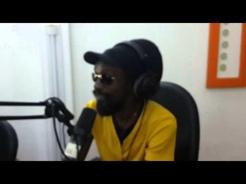 Naftaly à la radio Côte d' Ivoire avec Serge Essoh