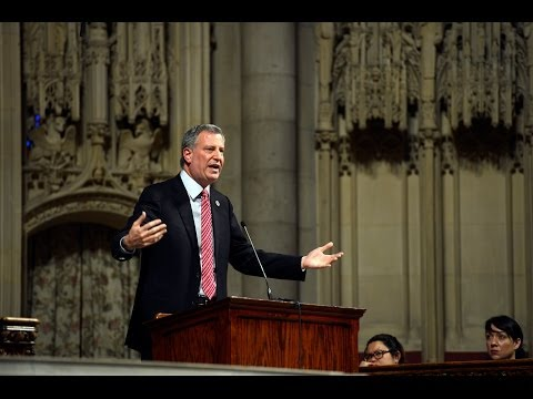 Mayor Bill de Blasio Delivers Remarks on Education Vision for New York City