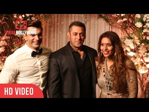 Salman Khan at Karan Singh Grover-Bipasha Basu Wedding Reception