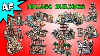 Every Lego Ninjago BUILDING - Complete Collection!