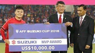 Quang Hải Nhận Cú Đúp Danh Hiệu Danh Giá Của AFF Cup 2018 Sau Màn Trình Diễn Đỉnh Cao