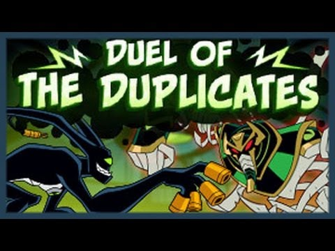 Ben 10 - Duel Of The Duplicates - Ben 10 Games