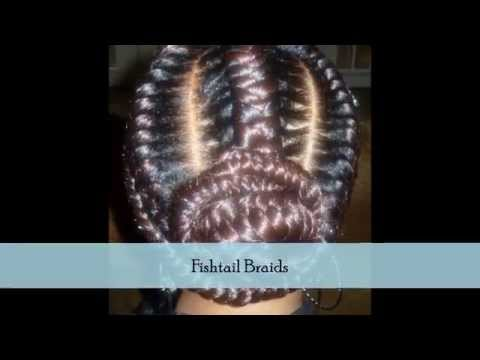 Protectives Braids Styles: Goddess Updo's, Senegalese Twist, Fishtails, Photo Images & more