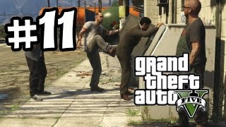 Grand Theft Auto 5 Part 11 Walkthrough Gameplay - Trevor Philips Industries - GTA V Lets Play