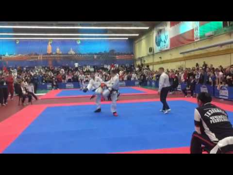 Itf taekwon-do  4f5c  6210  8005 evgeny otsimikv v alisher akhmedov (taj)  8996  8074  56de  6570 10 829  56de sparring senior male -63kg final