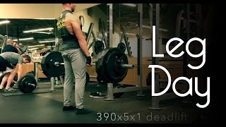 Leg Day - My first workout video