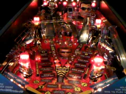 Terminator 3 pinball, multiball