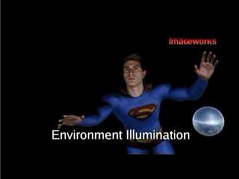 superman returns - cg making