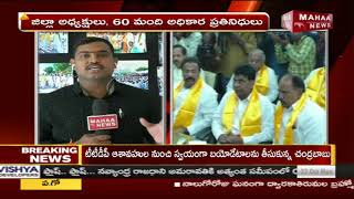 Live Updates On AP CM Chandrababu Meeting With Telangana TDP Leader Over Prjakutami Seats | MahaaNew