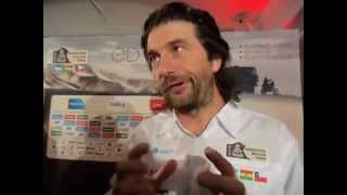Aspettando la Dakar 2015, Parigi: David Castera