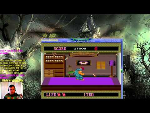 Splatterhouse - lilwildwolf21 plays Vizzed.com GamePlay Mega Video competition - User video