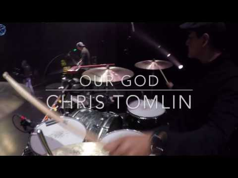 Our God by Chris Tomlin - Live Drum Cam 2017 (HD) thumbnail