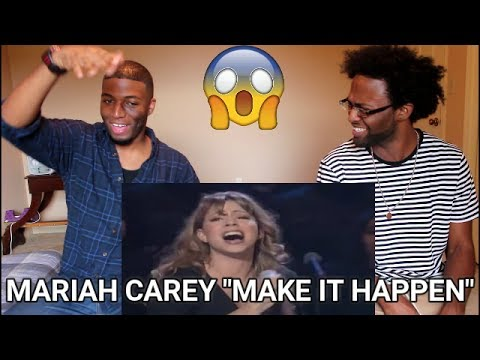 Mariah Carey - Make It Happen ( Live at Madison Square Garden) (REACTION)