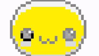 Speed art pixelated cute emoji