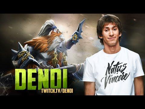Dota 2 Stream NaVi Dendi  Magnus Gameplay  Commentary