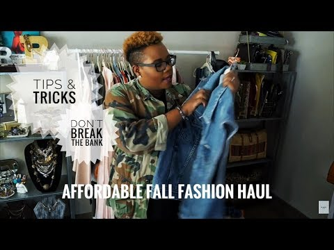Fall Haul 2017 + Affordable Shopping Tips | Nordstrom, Anthro, H&M, Zara & More!! | RGModeTv