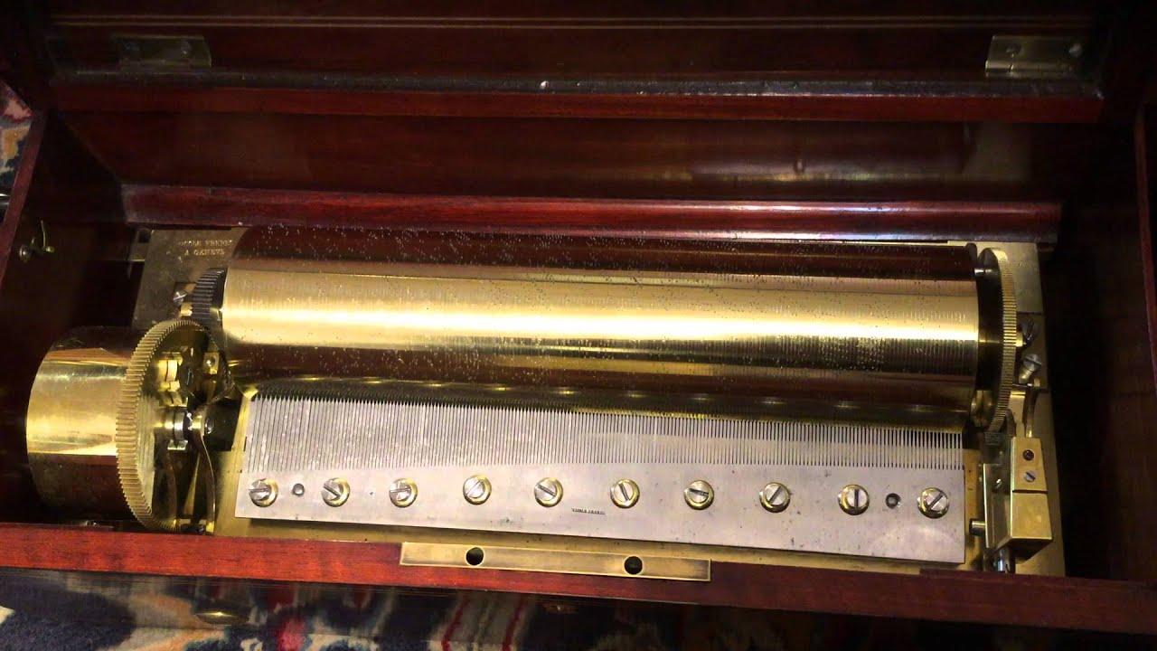 Music Box Key Ouverture Key Wind Music Box